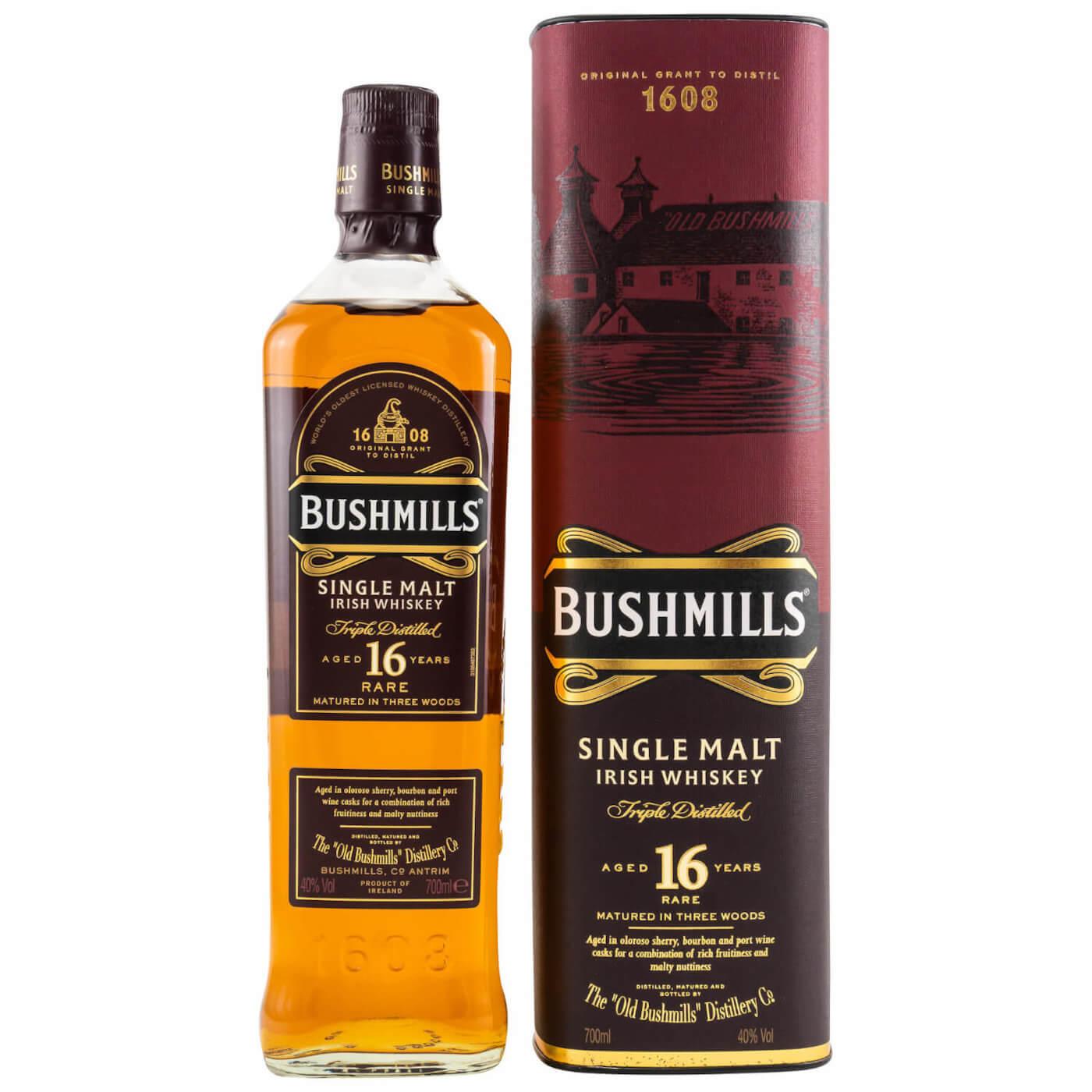 Bushmills 16 Jahre Whisky irisch