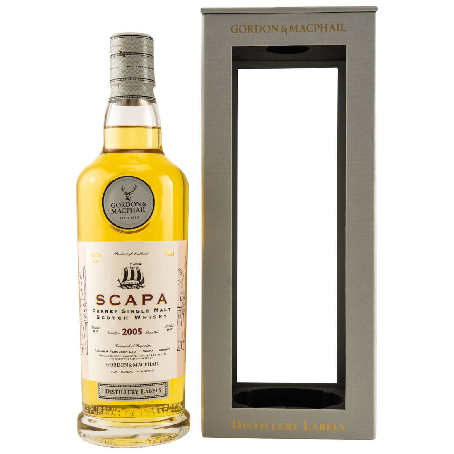 Scapa 2005/2019 Gordon & Macphail Islands Whisky