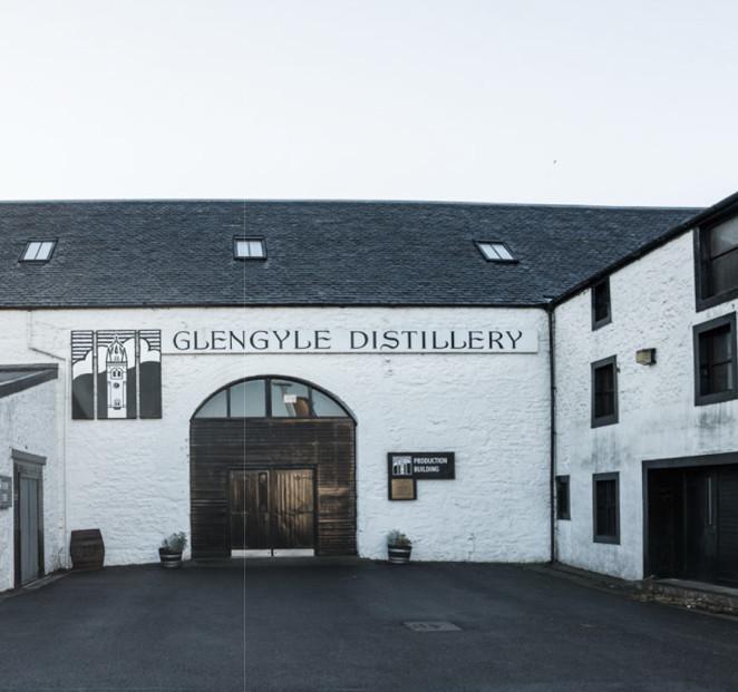 Hof von Mitchells Glengyle Distillery