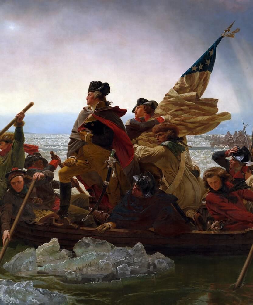 Soldaten im Unabhängigkeitskrieg im Amerika