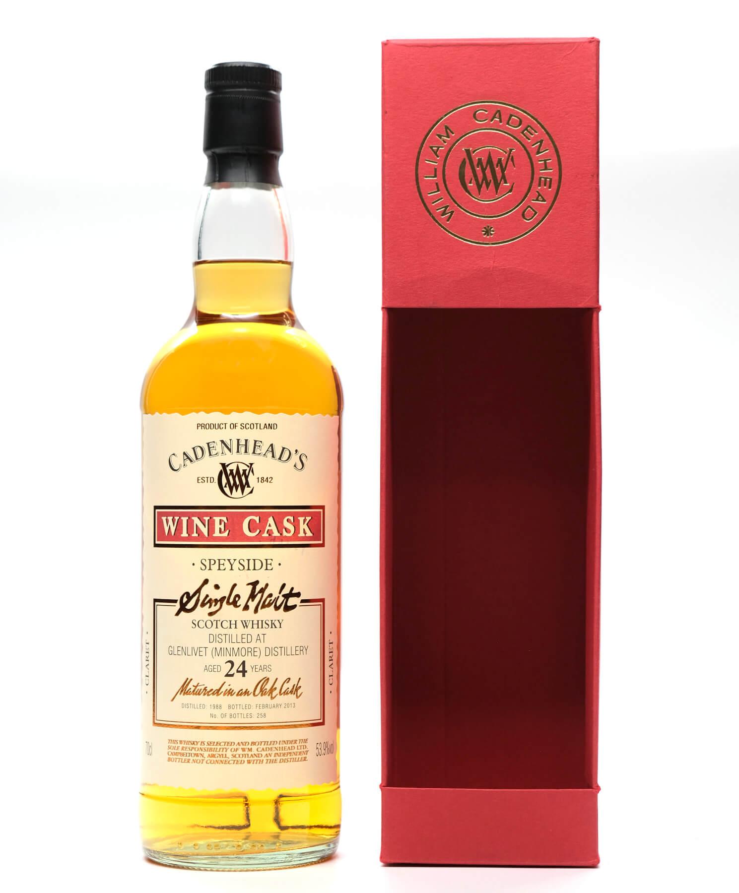 Cadenhead's Glenlivet Speyside Whisky