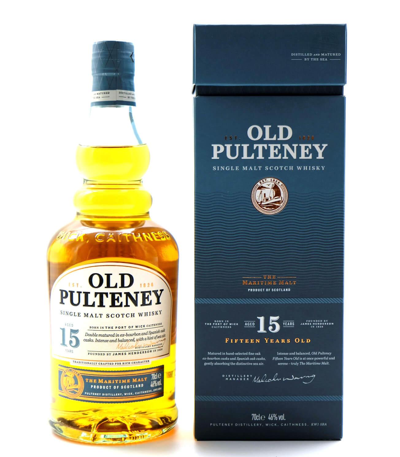 Old Pulteney 15 Jahre  Highland SIngle Malt